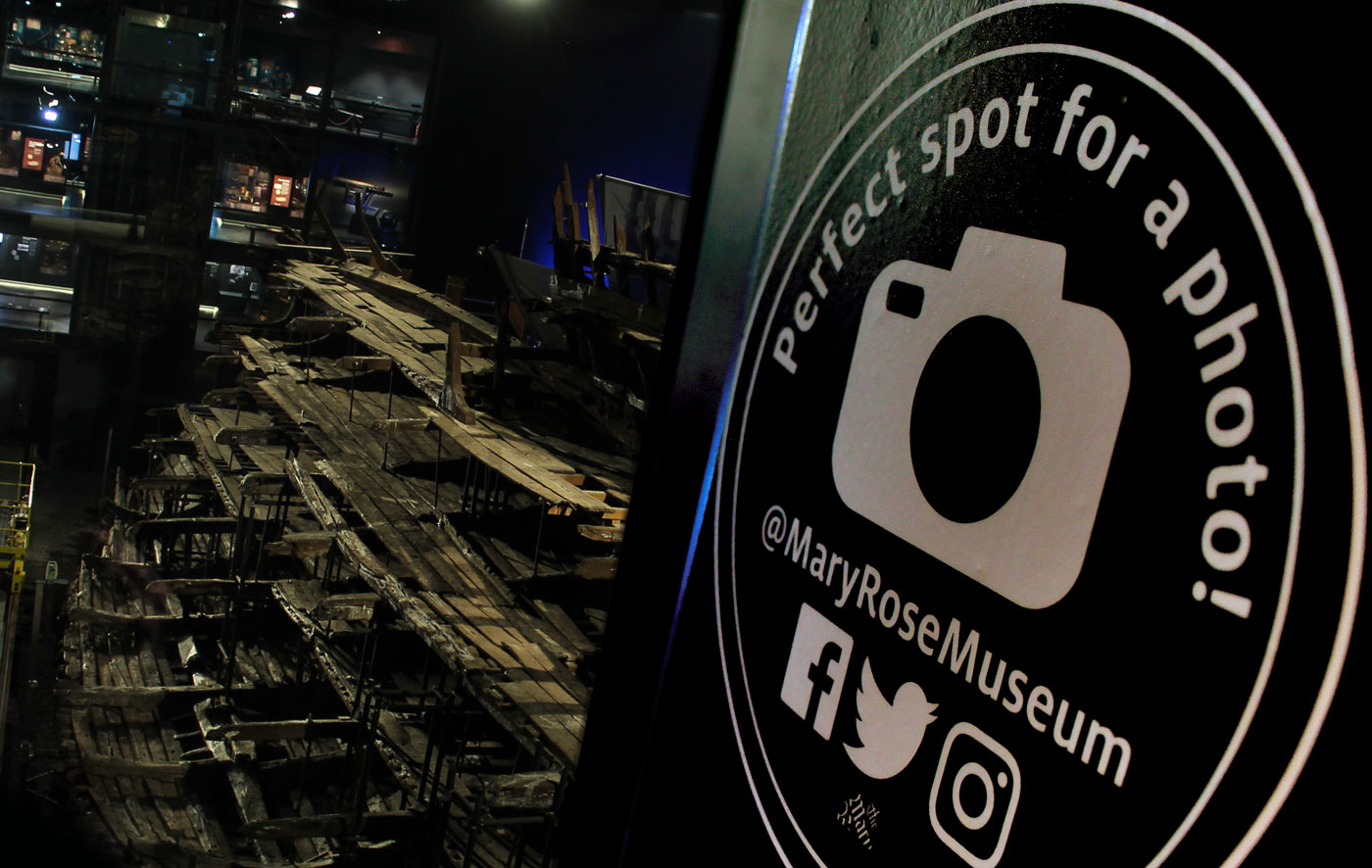 Photo spot at The Mary Rose